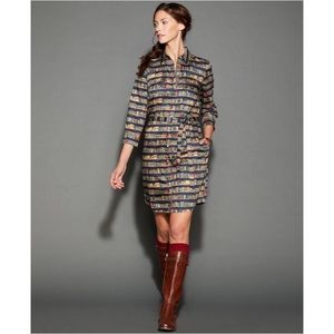 Tommy Hilfiger Book Print Librarian Shirt Dress